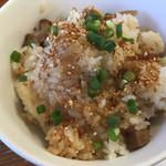 三隈飯店 - チャーシュー飯のアップ