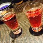 61902315 - 2017/1/29 ディナーで利用。                       食前酒は、スパークリングワインor日本酒かを選べます。