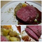 TTOAHISU - *柔らかく、噛むごとにお肉の旨みや甘みを感じます。 シェフの火入れも完璧で絶品。