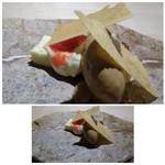 TTOAHISU - ◆ブルーチーズを使用したチーズケーキ&キャラメルアイス。