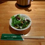 くまの - ランチのサラダ