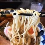 61905595 - 特製中華そばの麺