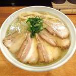 らーめん一宇 - ちゃーしゅー麺(塩)
