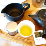 Salon de KANBAYASHI - 煎茶 焙煎火入れ茶