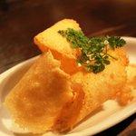 クミン - 2010/12/23 パルミジャーノチーズのおせんべい 350円