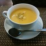 華むら - 料理写真:「野菜畑ランチ」本日のスープ