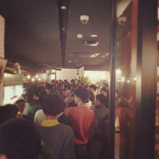 福島で最もパーティー向きのお店です。