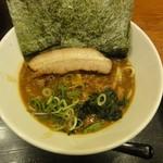 横浜家系ラーメン 弁慶 - 料理写真:カレーラーメン