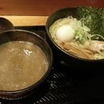 麺屋しみる - 季節限定つけ麺 極煮干しドロつけ麺2017.1.28