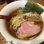 61921094 - 醤油太麺750円