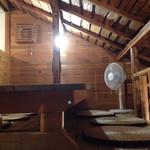 ハティフナット - 屋根裏部屋の様子