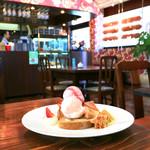 サロン・ド・テ・サンファソン シュール・シエル - 料理写真:皿盛りデザート (650円) '16 9月下旬