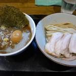 市川ウズマサ - ◉特製つけそば(麺少なめ180g)税込み1030円