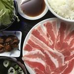 焼肉永澤園 - 料理写真:サムギョプサル定食」