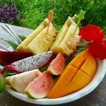 宮良農園 - 石垣島産フルーツ盛り合わせ♪