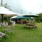 宮良農園 - 広い開放的なお庭