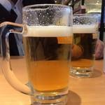 やよい軒 - 生ビール