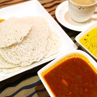 南インド伝統料理ストリング・ホッパー