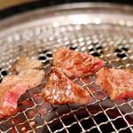 焼肉牛角 - 和牛カルビ