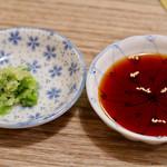 焼肉牛角 - ネギ塩とタレ