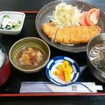 安威庵 - 料理写真:おろしカツセット