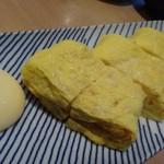 釜喜利うどん - ◆玉子焼き(550円)・・薄味でふっくら仕上げ。これもツマミに最適。