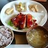 風 - 料理写真:照り焼きチキン定食