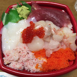 海鮮丼丸 - 海峡丼   特盛   850円
