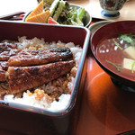 Saikyougenya - 鰻重(お吸い物付き)