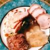 離の宴 - 料理写真:前菜から肉にまみれる
