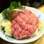 かわ津 - うずら鍋 ¥1,800