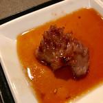 炭こう - 焼いたゲタカルビ【料理】