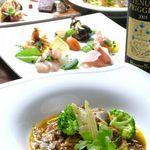 トレジャーワン アッカ - 料理写真:コース料理 3,000円からご用意