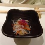 天ぷら新宿つな八 - 綱八膳 小鉢