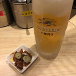 せい家 - 生ビール(280円)
