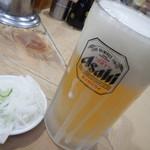 喜多八 - 生ビール中ジョッキ