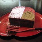 清水立場 - チョコと抹茶のパウンドケーキ(2017.01)