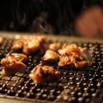 鶏処きじや - 炭焼きコースの赤鶏