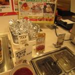 すたみな太郎 - 包み焼きスパゲティも