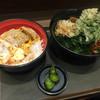 名代 富士そば - 料理写真:かつ丼セットに春菊天
