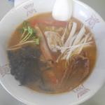 かにラーメン 三翠 - 料理写真:カニらーめん 750円