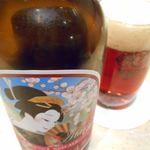 魚ごころ 季魚喜人 - 熱海ビール レッドエール