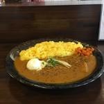 マハカラ・カレー - プレーン並豚肉温玉トッピング