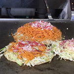 大蔵屋 - 料理写真:手前辛麺ミニ、奥(私)辛麺ダブル