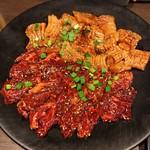 備長炭焼肉 東秀苑 - ハラミ・ミノ