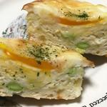 グーツ - 枝豆チーズエッグの断面