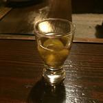 宿房 あそ - 食前酒の梅酒