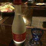 宿房 あそ - 地酒の冷酒=780円 甘口やったばい