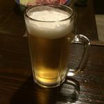 宿房 あそ - 生ビール=580円