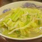 来々軒 - 料理写真:タンメン